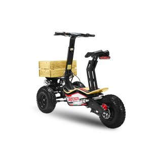 Velocifero MAD TRUCK 2000W 60V Electric Scooter 6 inch Police