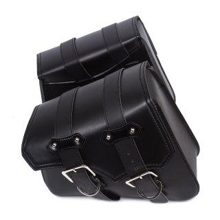 Universal leather saddlebag 20x10x23cm