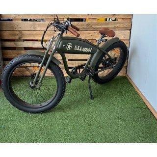 E-Bike Vintage Caferacer
