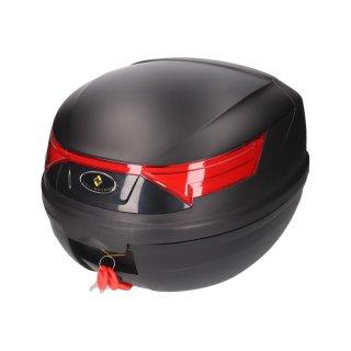 Topcase 32l with backrest black