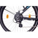 """NCM Venice 28"""" Trekking E-Bike 48V 13Ah 624Wh Matt Black"""
