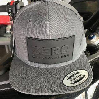 Zero Motorcycles Rubber Logo Kappe DUNKEL GRAU Verstellbar