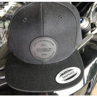 Zero Motorcycles Logo Patch Kappe SCHWARZ Verstellbar